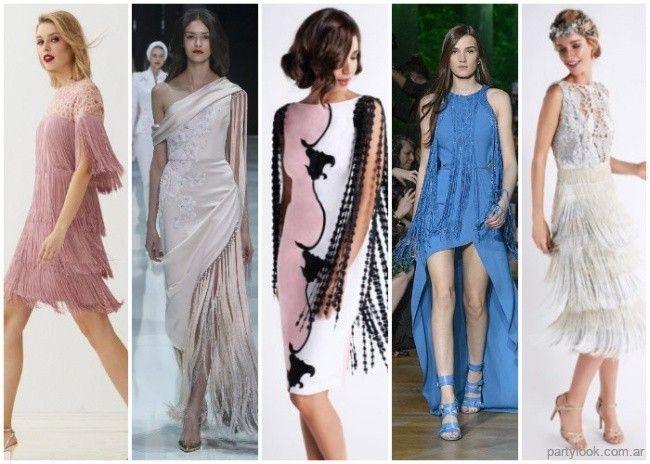 Moda primavera verano 2019 en vestidos de fiesta