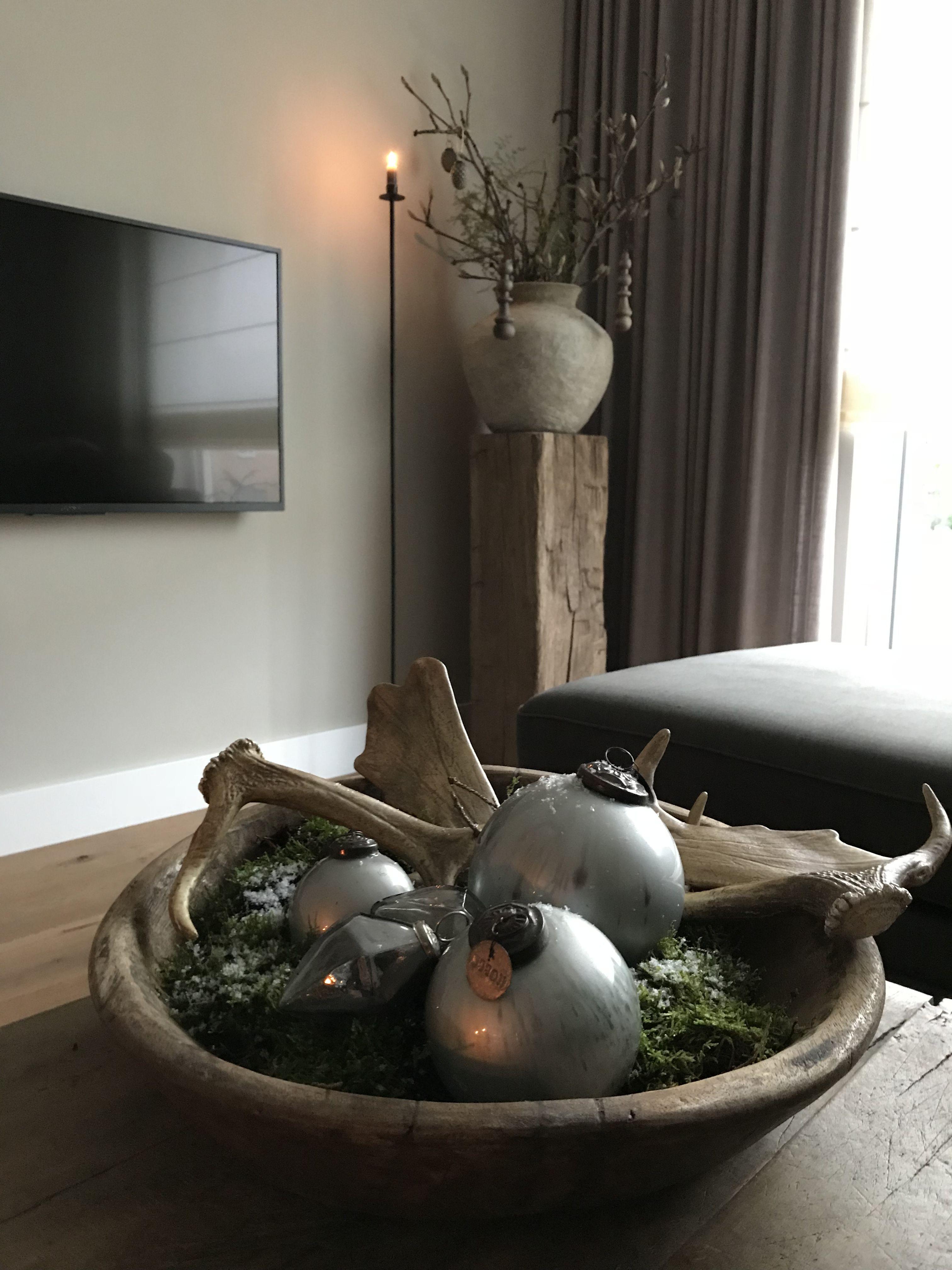 Kerst Bij Thuis Bij Wendoosje Woonkamer Interieur Huiskamer