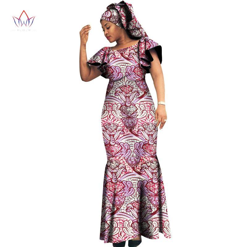 2017 vestidos de Diseño en Moda mujer mujeres bazin riche dashiki ...