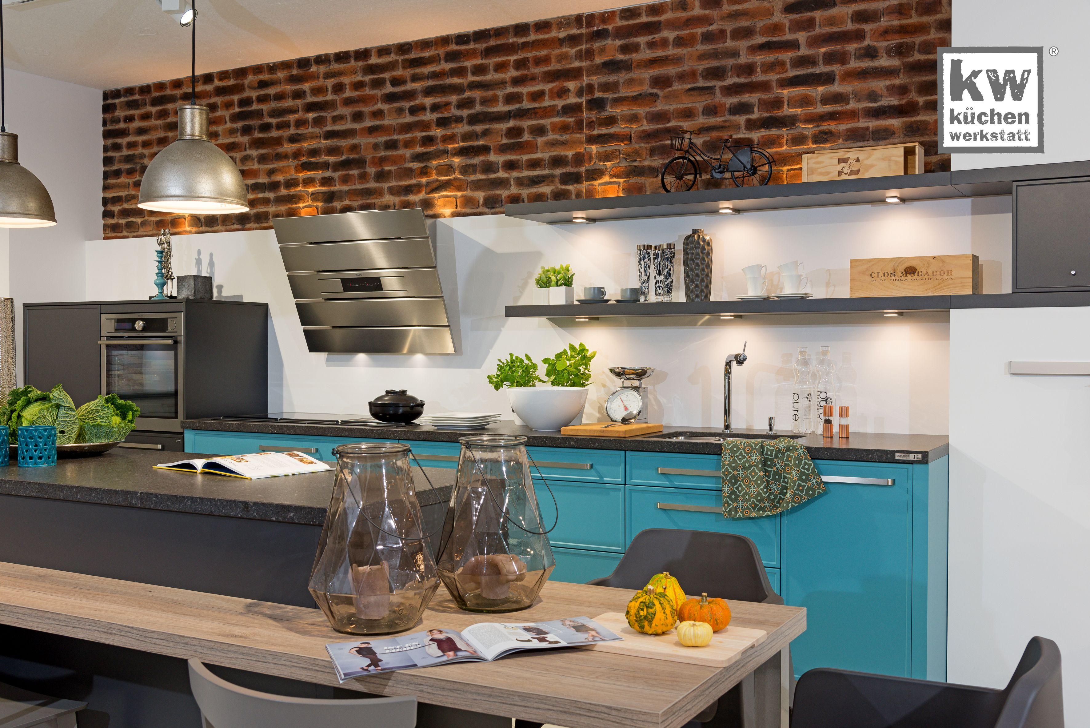 Einbaukuche Mit Industrial Elementen Moderne Kuche Einbaukuche Modern