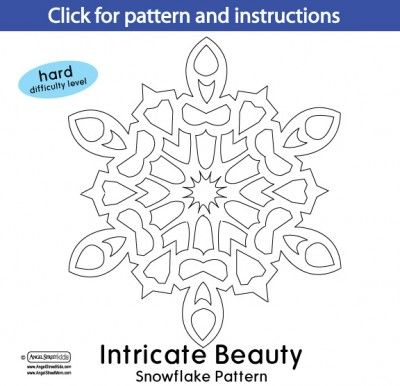 SIMPLE SNOWFLAKE PATTERNS for print design | Wedding Invitation ...