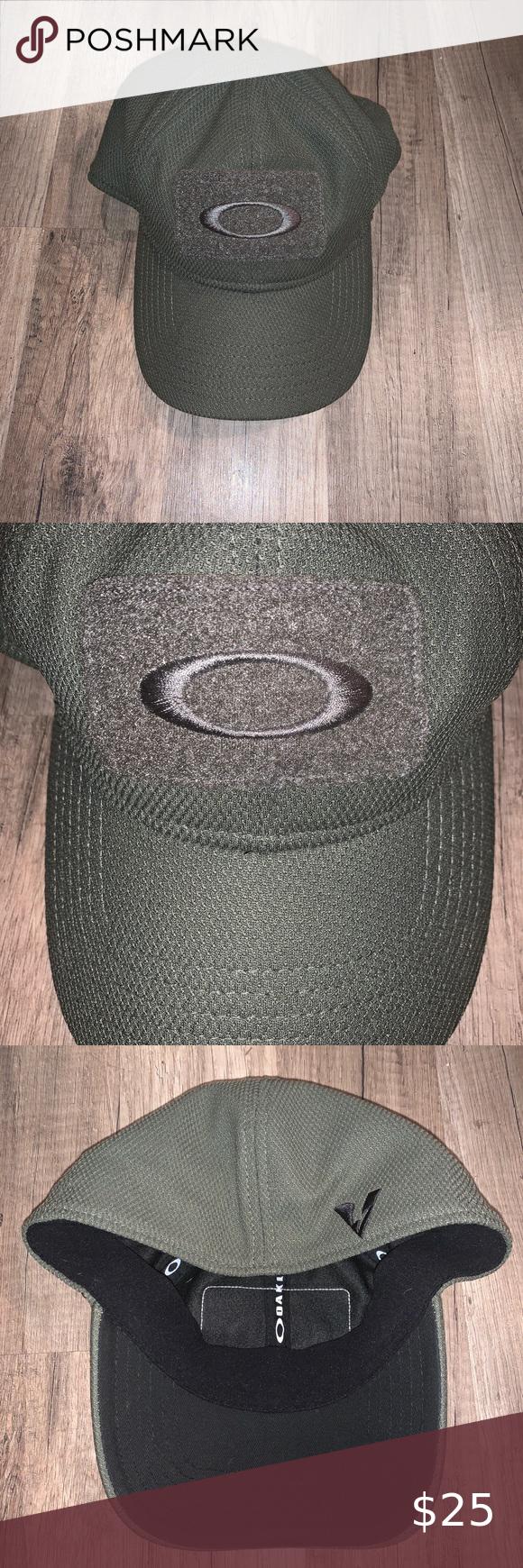 Men S Oakley Tactical Hat Men S Size L Xl Fitted Oakley Military Green Tactical Hat Oakley Accessories Hats In 2020 Oakley Tactical Tactical Hat Oakley Military