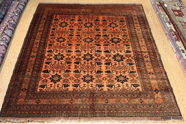 On Sale Handmade Turkmen Tekke Ersari Tribal Rug Oriental 7 X 10