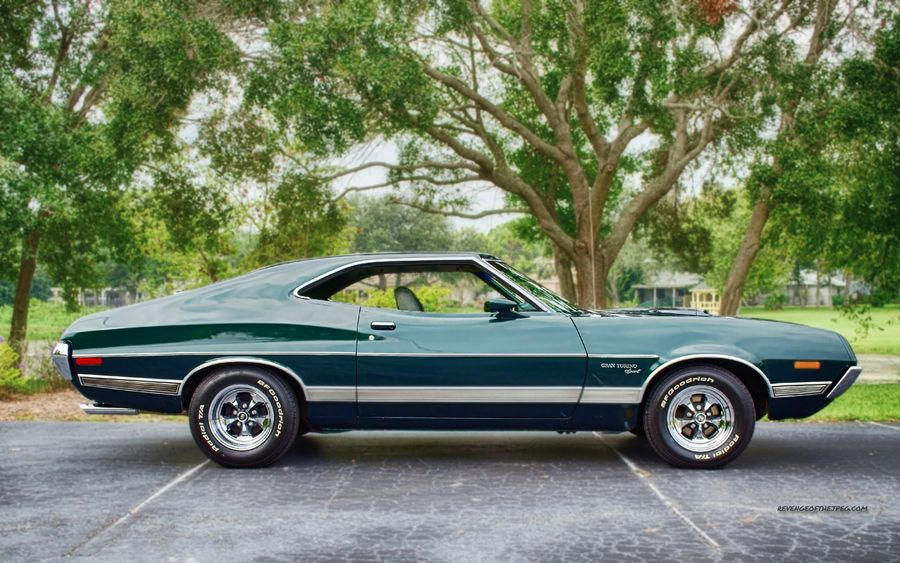 find this pin and more on cool cars motor bikes green ford gran torino