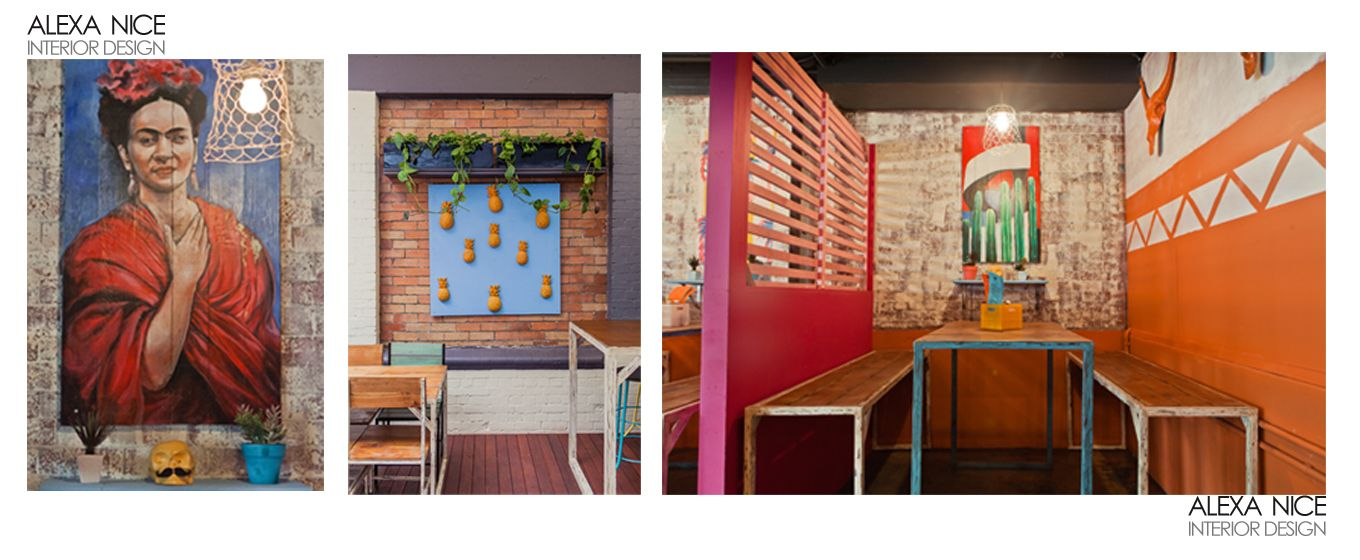 Mexican cantina, Chilliwow designed by Alexa Nice Interior Design Pty Ltd.  www.alexanice