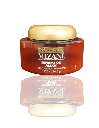 Mizani Supreme Oil Mask, 8 Ounce Eye Know - All-In-One Eye Serum 1.7oz