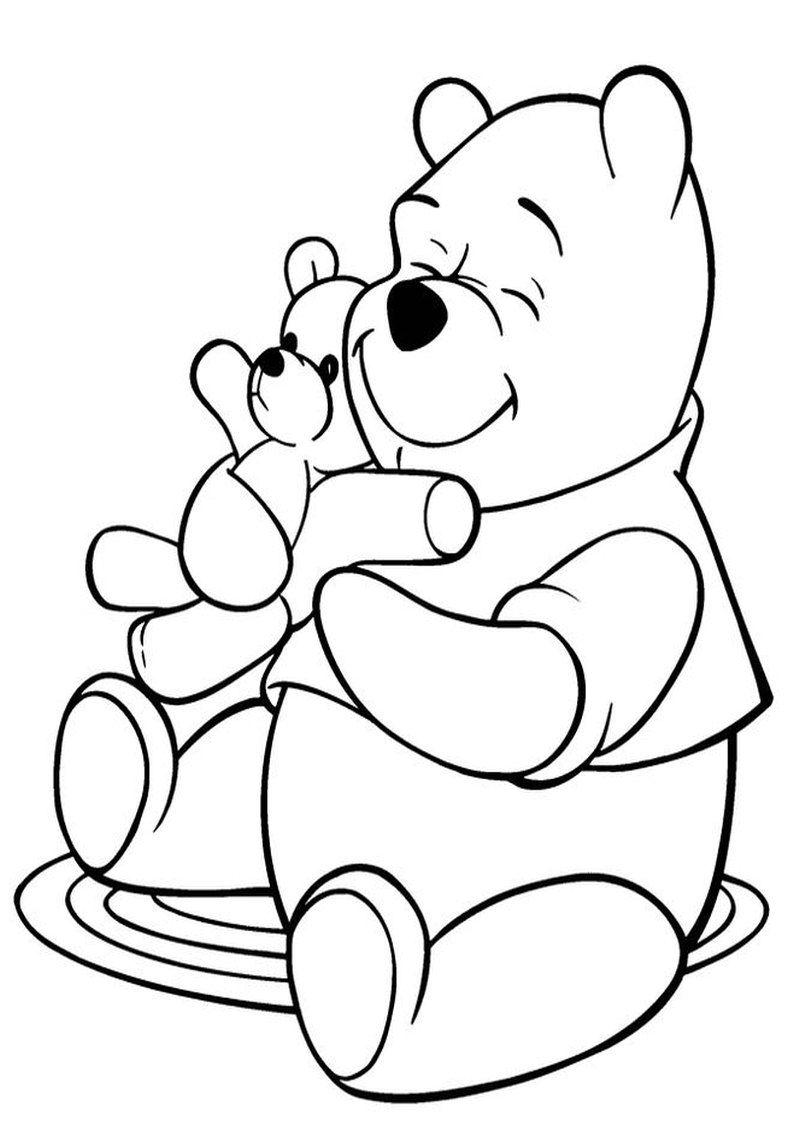 Kolorowanki Kubus Puchatek Tygrysek Prosiaczek Klapouszek Malowanki Do Wydruku Dla Dzieci 16 Jpg Bear Coloring Pages Puppy Coloring Pages Disney Coloring Pages