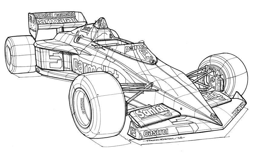 Brabham Bt 52 Bmw 1983 5 Nelson Piquet