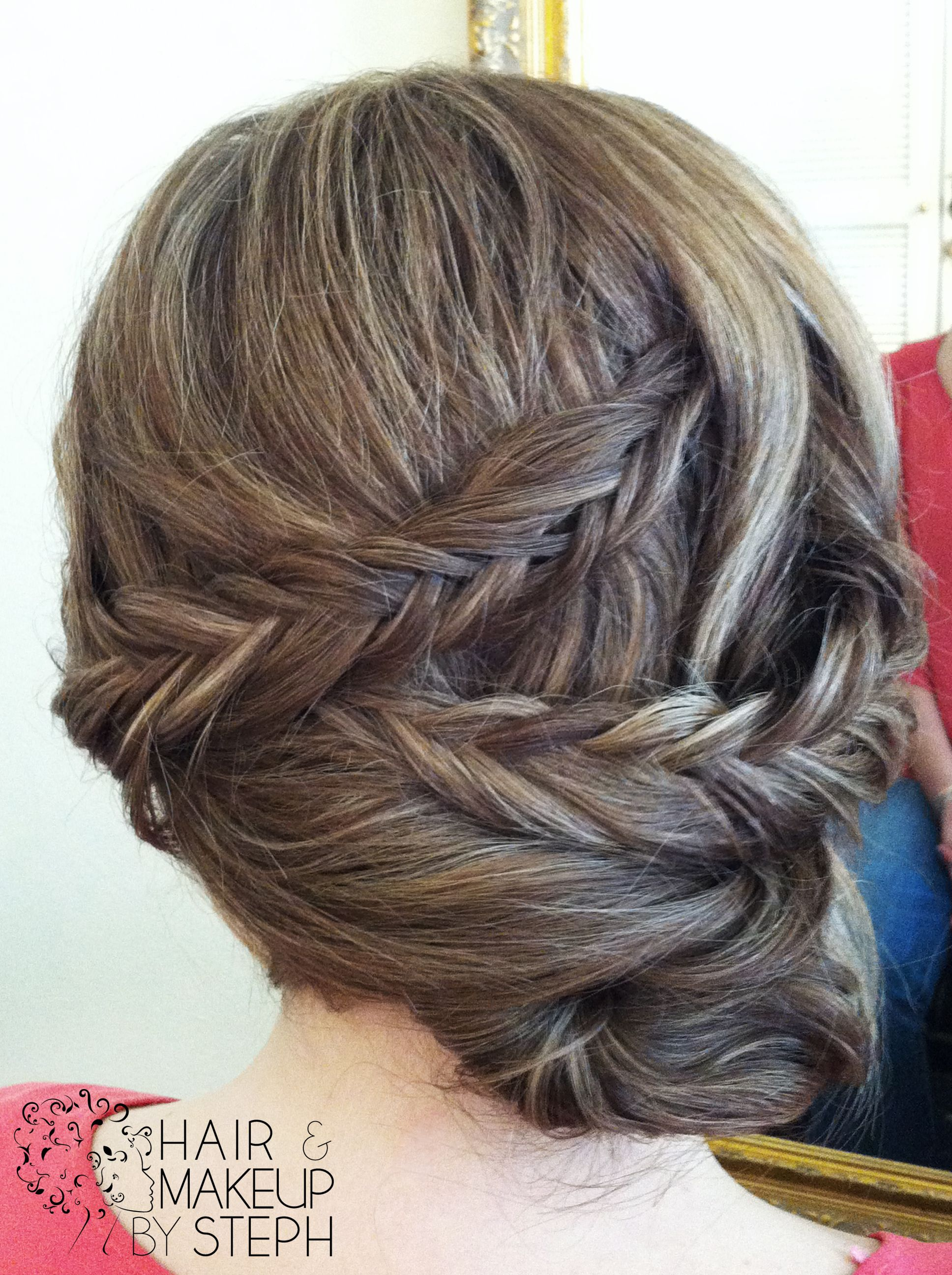 Hair and makeup by steph fishtail braids fishtail and hair style