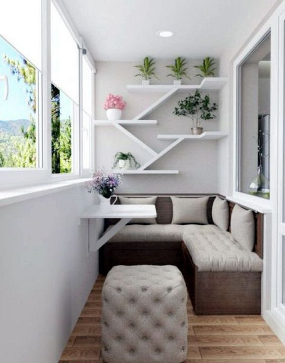 Small Apartment Balcony Garden Ideas: 24 Modern Small Balcony Design Ideas For Apartment