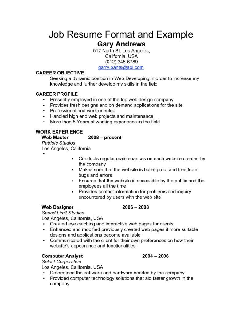 samples resumes for jobs inspiration decoration how write professional resume format download pdf job and example - Write A Professional Resume