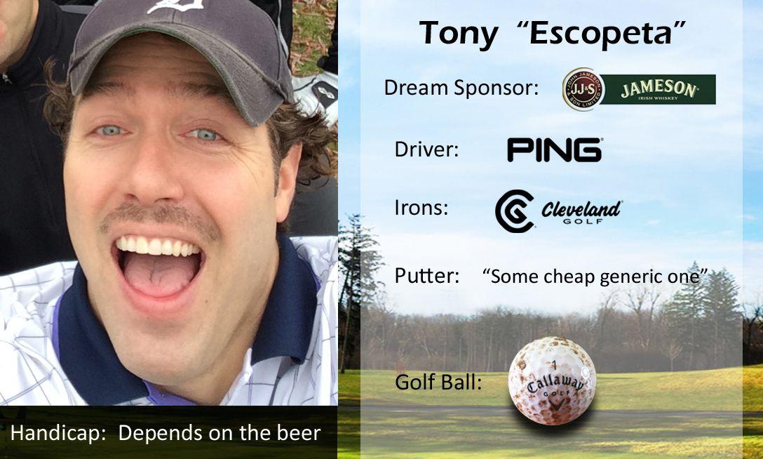 """Tony """"Escopeta"""" Golf putters, Cleveland golf, Golf ball"""