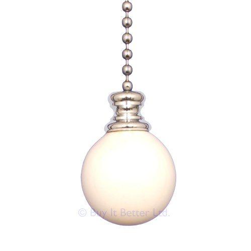 Bathroom Light Pull Chain Polished