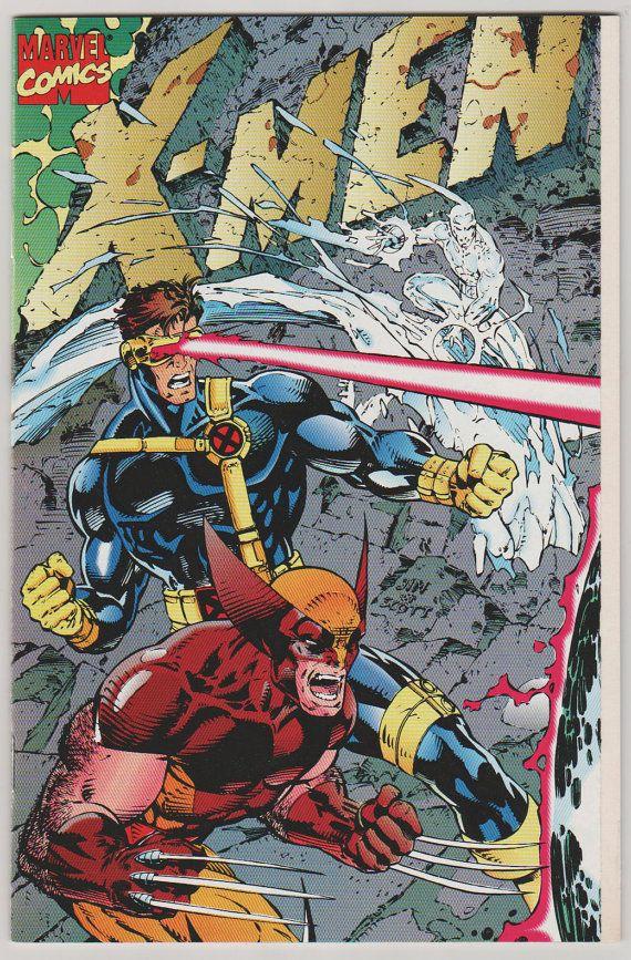 Xmen V1 1 Gatefold Cover Nm Oct 1991 By Rubbersuitstudios 10 00 Xmen Comicbooks Jimlee Jim Lee Art Comic Covers Comics