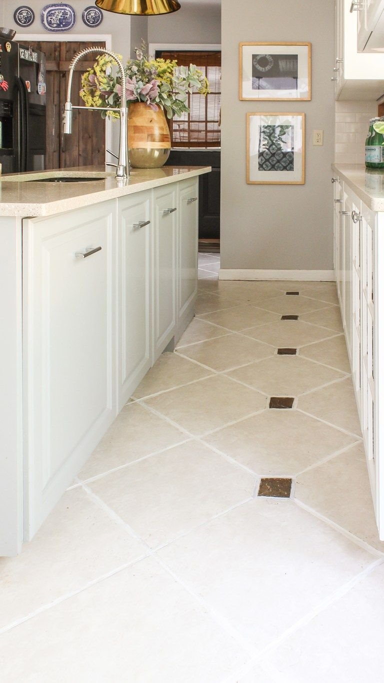 The Easiest Way To Clean Filthy Neglected Tile Flooring Cleaning Tile Floors Tile Floor Ceramic Floor Tiles