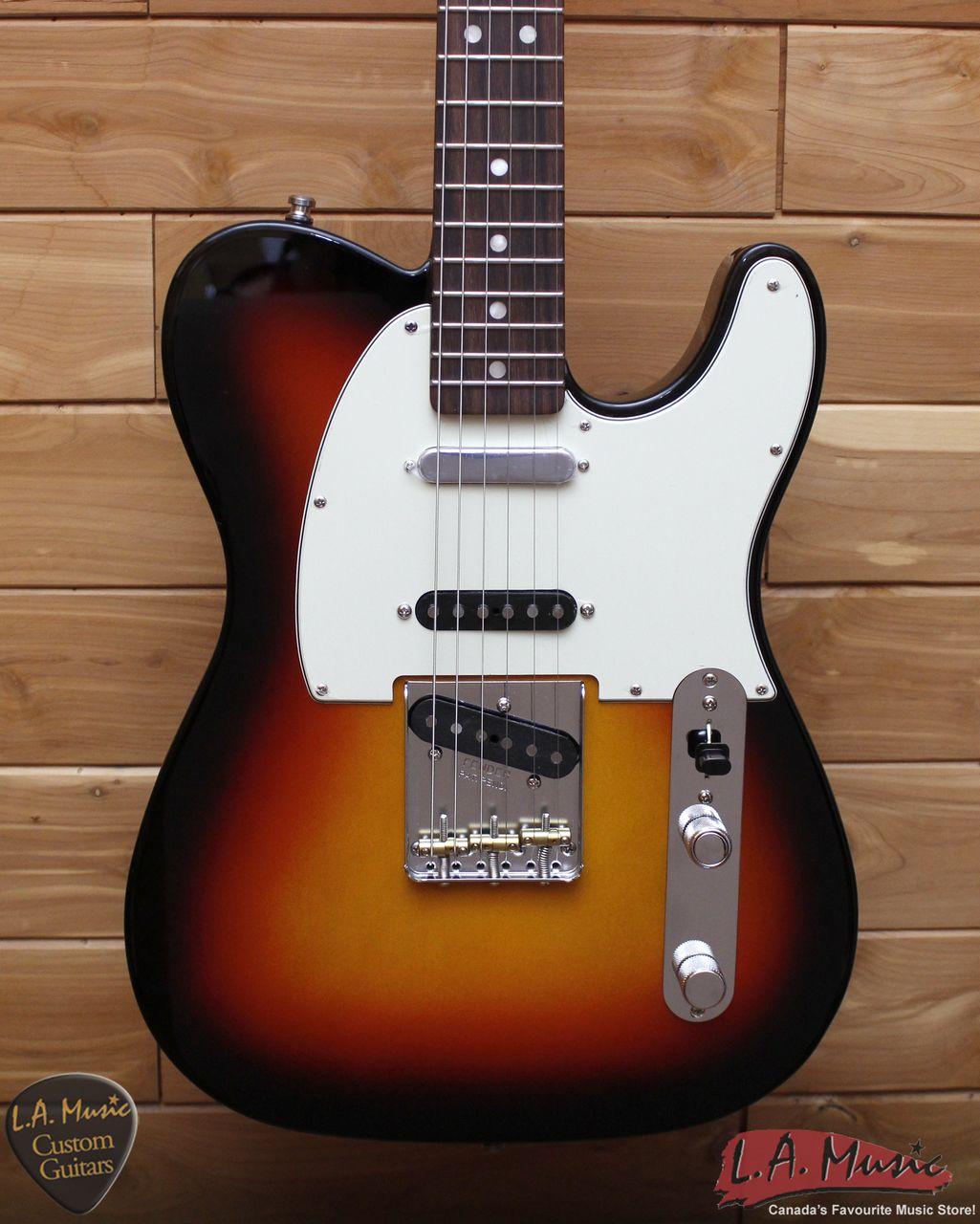 Fender Vintage Hot Rod '60s Telecaster, Rosewood Fingerboard, 3-Color Sunburst 0112600800 - SN - HR002650