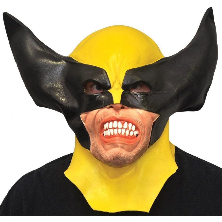 Wolverine Adult Latex Mask | Latex and Masking