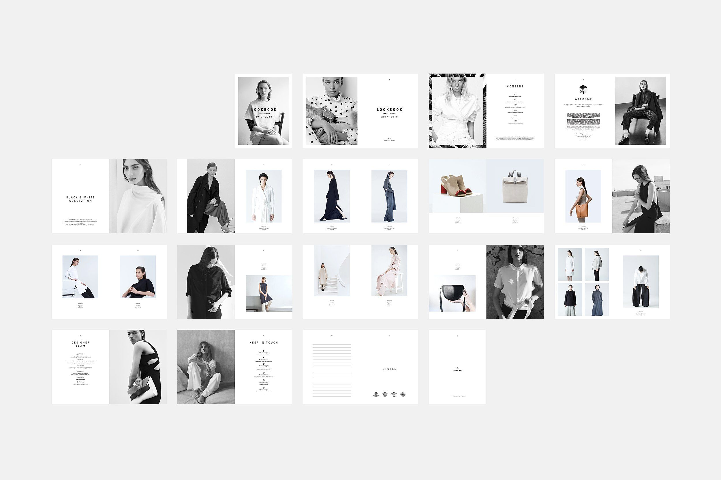 Lookbook by silukEight on @creativemarket **Only FREE availible from ...
