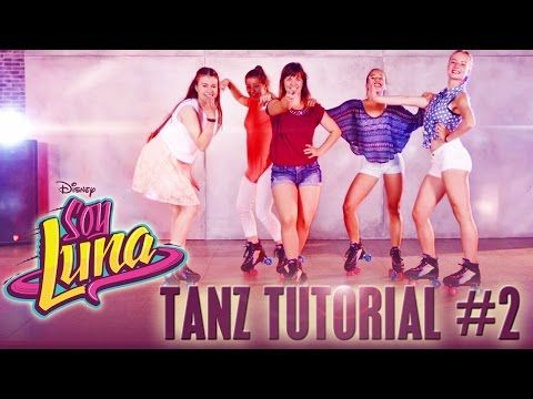 ALAS Dance Tutorial #1 - Tanze wie ein SOY LUNA-Star - im DISNEY CHANNEL - YouTube