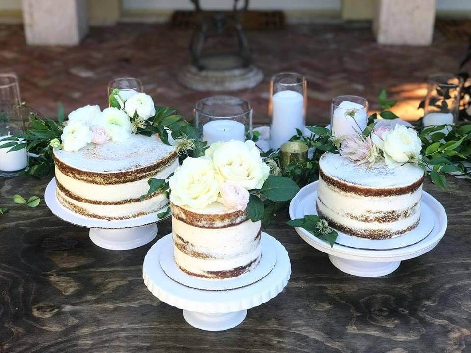 Custom Cakes Sassy Cakes Rustic Semi Iced Deconstructed Wedding