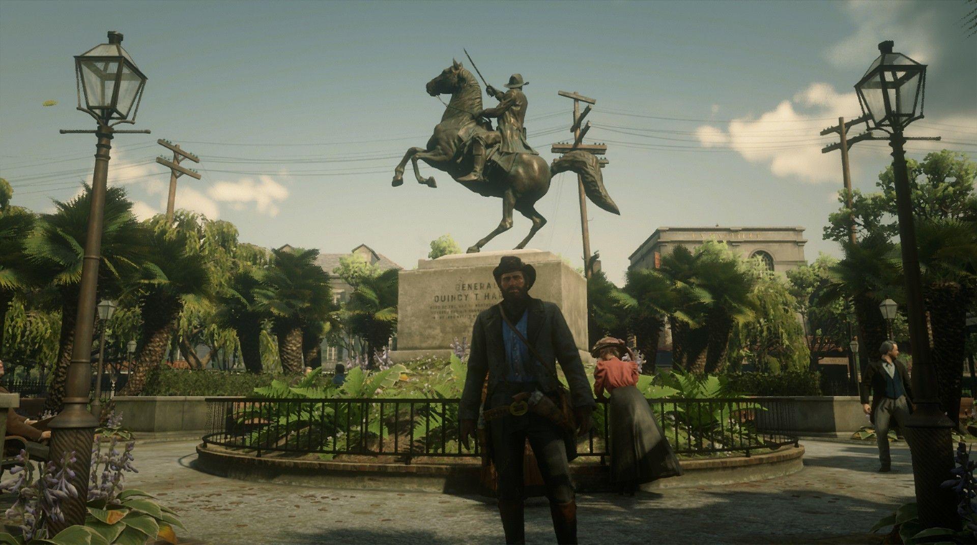 Red Dead Redemption 2 Xbox One Einrib13 Arthur Morgan In Saint Denis Bayou Nwa Lemoyne Red Dead Redemption Red Dead Redemption Ii Red Dead Redemption 1