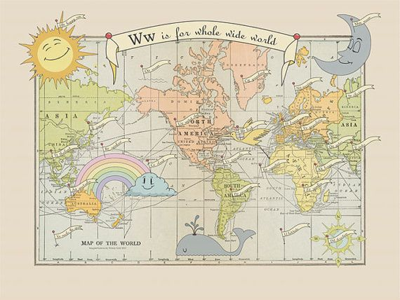 Add some fun and whimsy to your world with this alphabetical vintage bay area based artist wendy gold of imaginenations has transformed vintage globes and maps into stunning new artworks with her whimsical and gumiabroncs Images