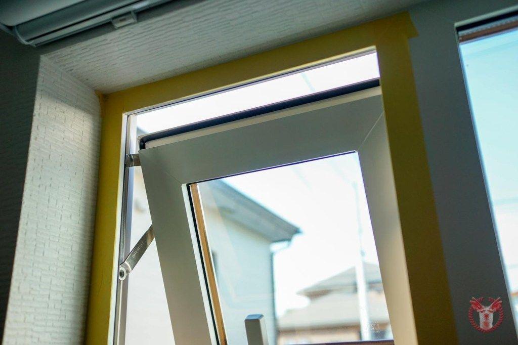 網戸のない賃貸マンションの窓に 自作 Diy で簡単な網戸をつけてみた スクリーンドア 網戸 マンション