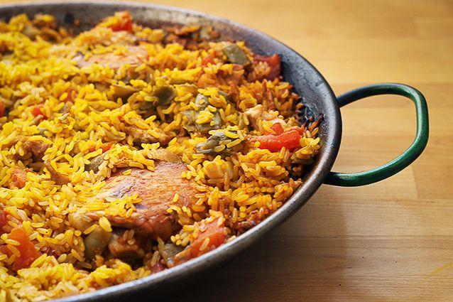 La paella valenciana una ricetta originale e for Ricette spagnole