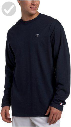 610a16ce Champion Men's Long Sleeve T-Shirt, Navy, X-Large - Mens world (*Amazon  Partner-Link)