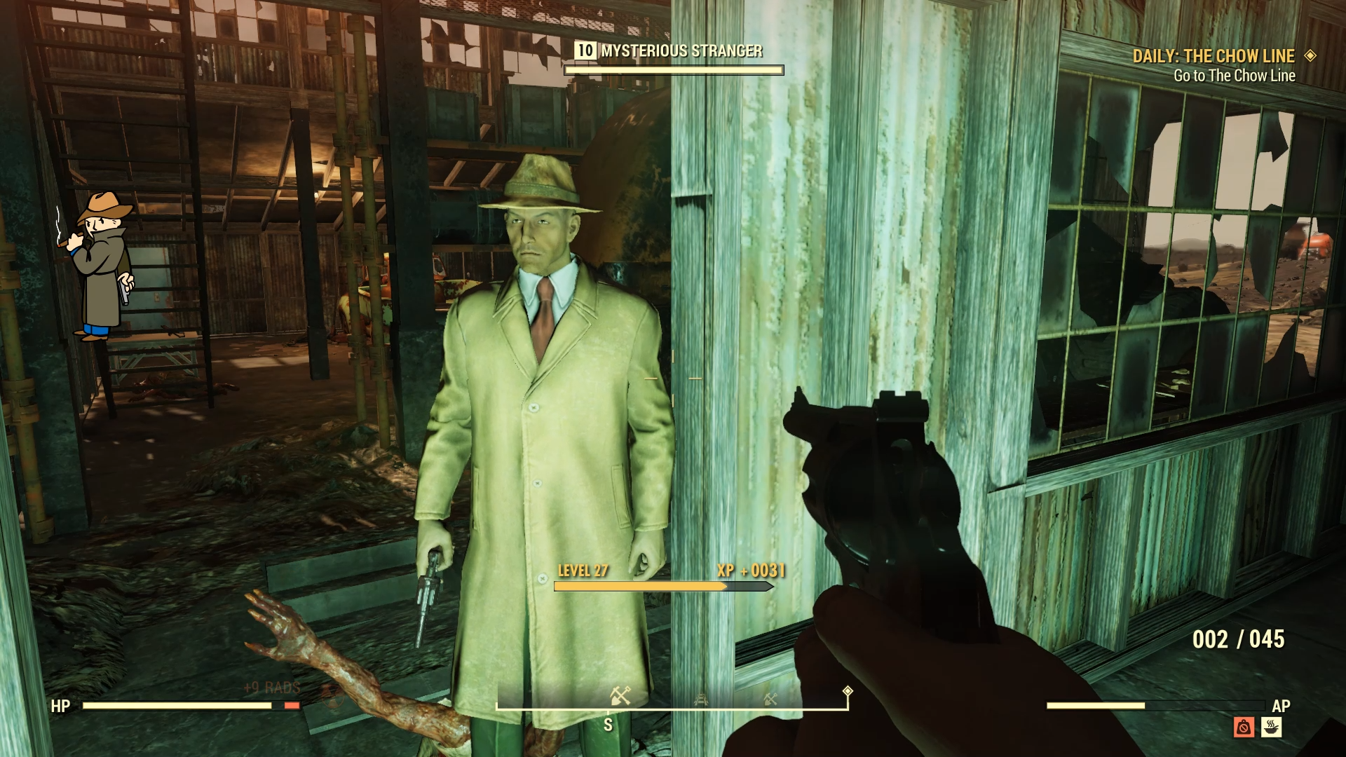 Now I have got the chance to see what Mysterious Stranger