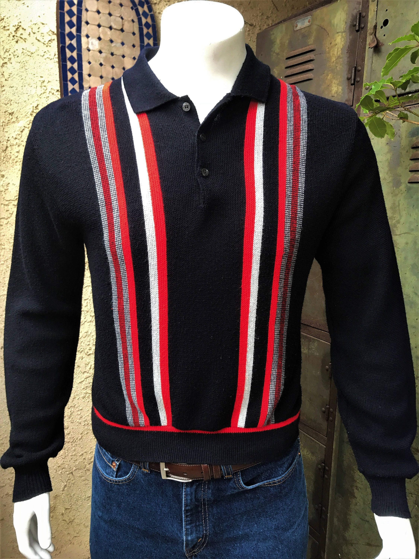 85a84b02cc085 Impaca Puritan 100% Orlon Acrylic/ Rockabilly Red, White and Black ...