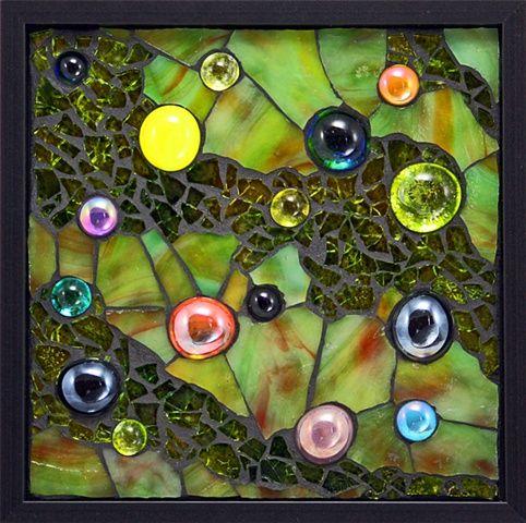 'Springtime Rain' Artist: Susan Walden ~ Beyond Borders: Mosaic Auction for DWB/MSF September 2012