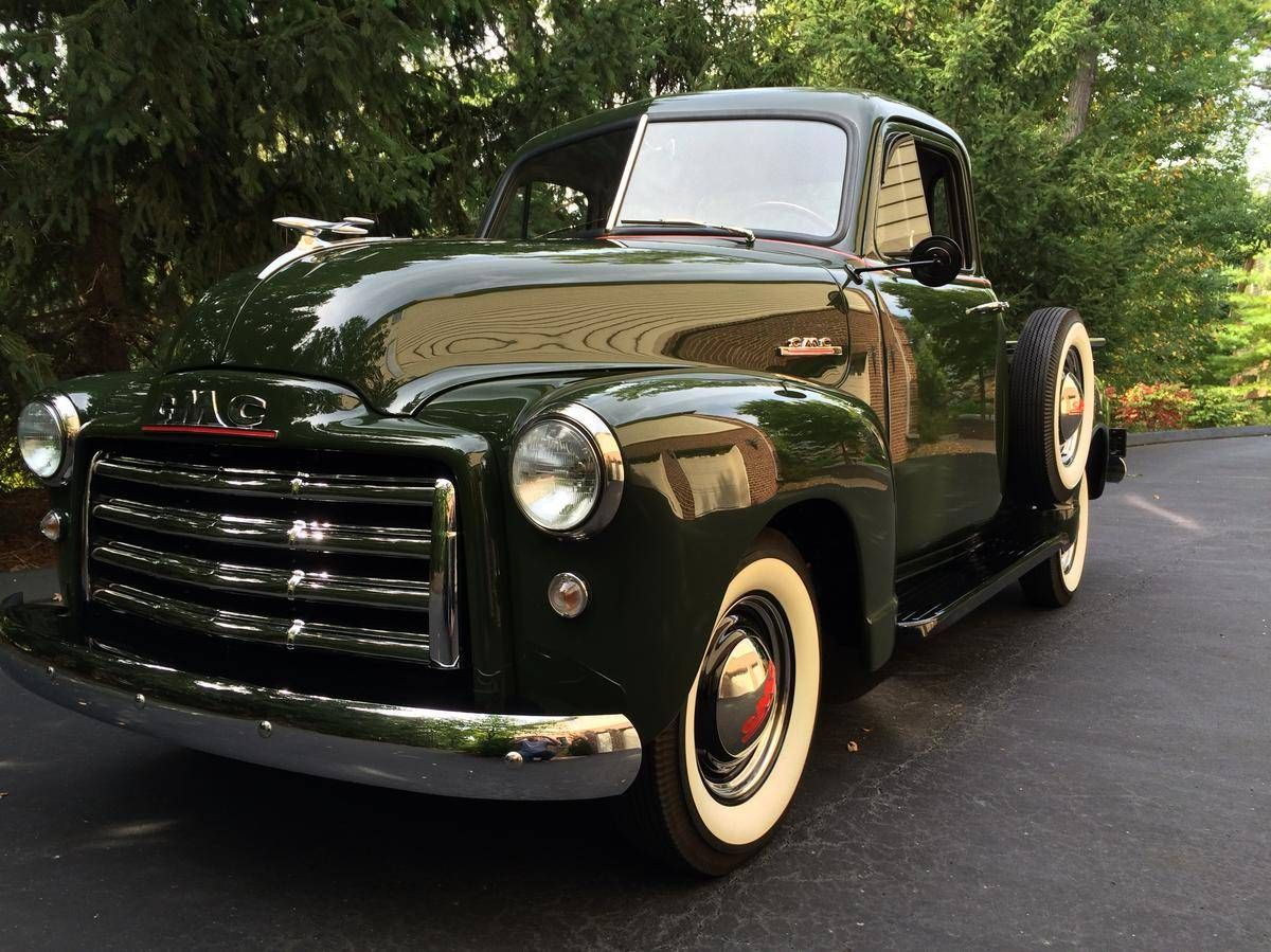 1953 Gmc 100 Pickup Half Ton Pickups Panels Vans Original Chevy Pick Up