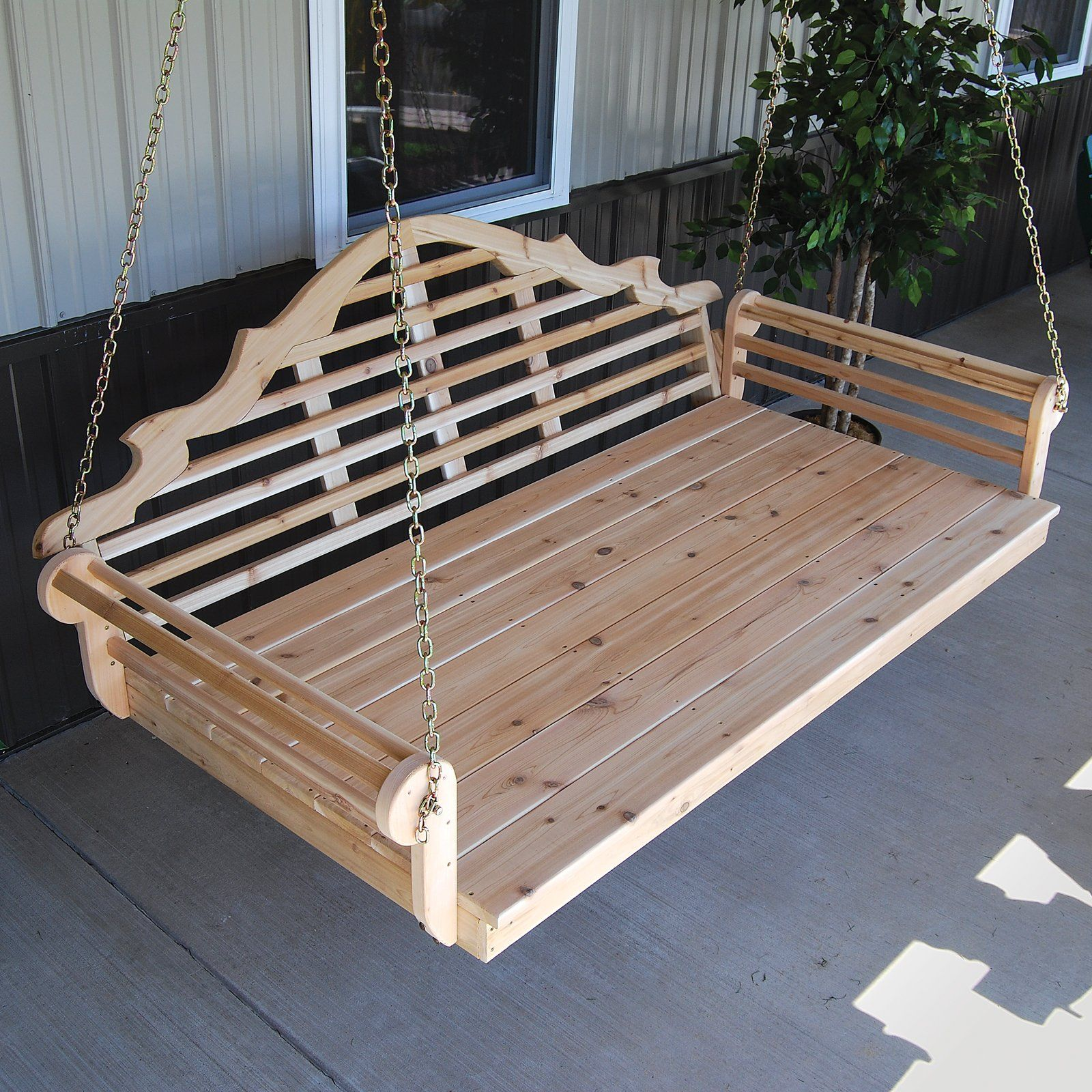 A & L Furniture Western Red Cedar Marlboro 85 x 47 in