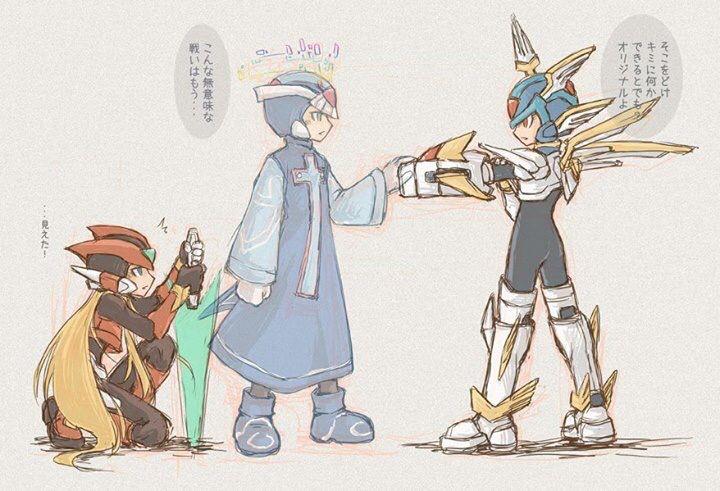 Zero Vs Copy X Mega Man Art Mega Man Gamers Anime