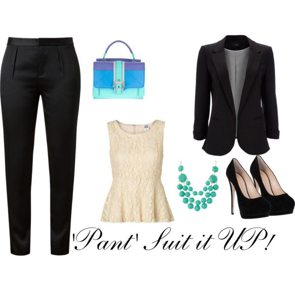 """Pant Suit it UP!"" by nici-botha on Polyvore"