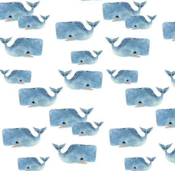 Blue Whale Pod - Organic Swaddle, Boppy Cover, Crib Sheet, Minky Sherpa Blanket - Baby Boy Nursery