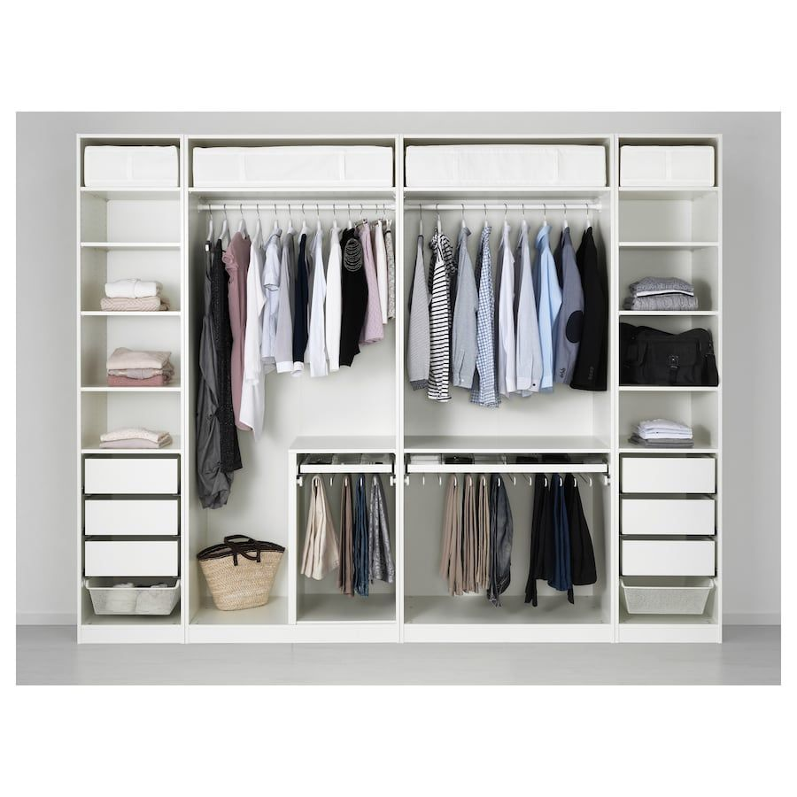 10 Beautiful Open Closet Suggestions For Sophisticated Home Ikea Pembuatan Lemari Ide Penyimpanan