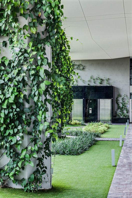 Jardin Dp Architects Green Architecture Dp Architects Tropical Architecture