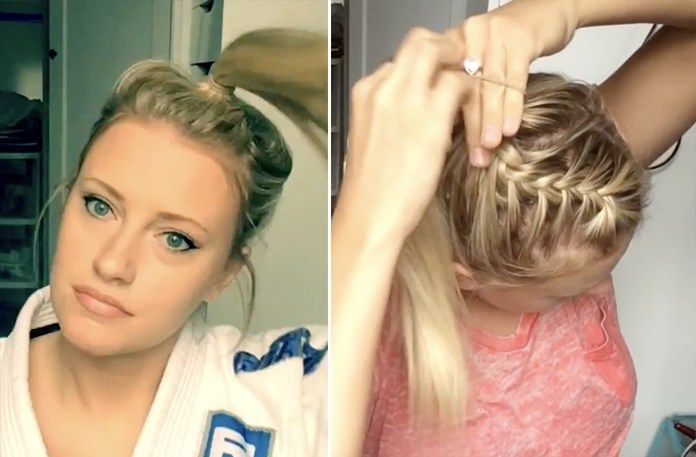 3 Jiu Jitsu Hairstyles That Will Keep Your Hair Secure While Rolling