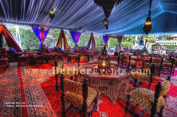Arabian tent theme
