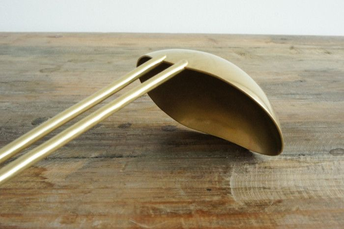 Hand-forged Brass Ladle – Spartan