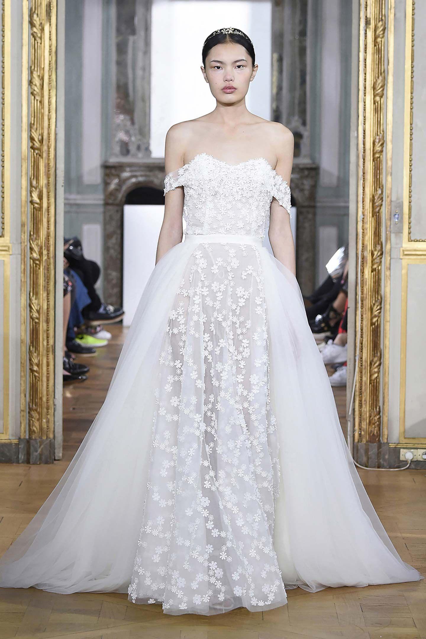 Daisy Bustier Dress & Tulle Overskirt Wedding dress
