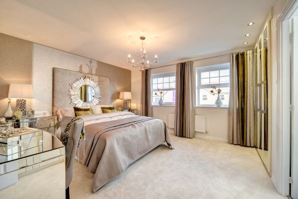 2015 interior design trend bedroom in nude with truffle for Bedroom designs and colours