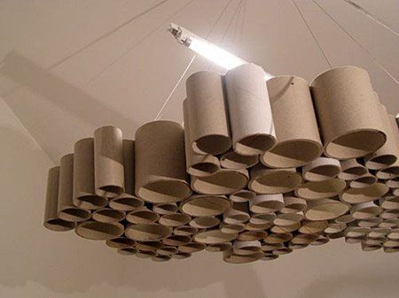 12 Amazing Things Made Out Of Cardboard Tubes Photos 0