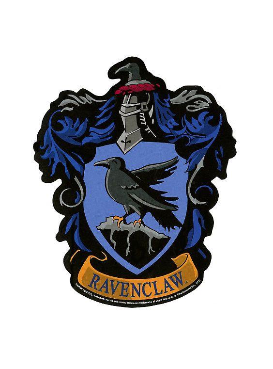 HARRY POTTER Ravenclaw Crest Mens Navy Blue Hogwarts T Shirt