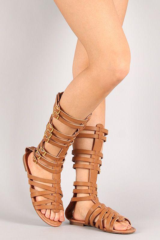 AGoGo Girls Open Toe Strap Sandals Summer Fashion Flat Sandals Outdoor Sport Sandals Princess Flats Sandals