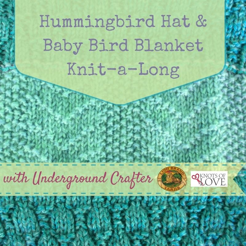 Announcing the Hummingbird Hat and Baby Bird Blanket Knit-a-Long ...