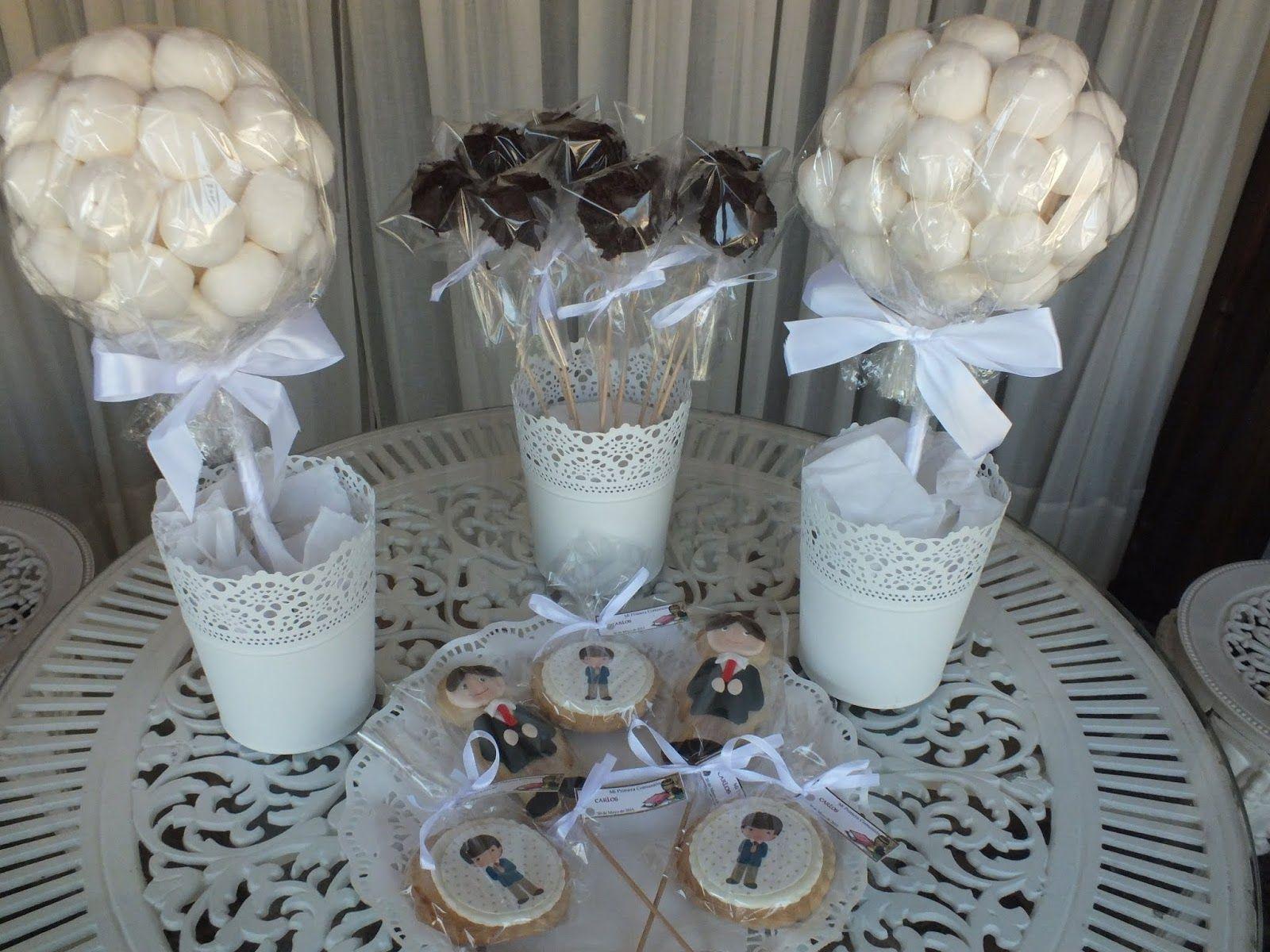 Resultado de imagen para mesa de dulces primera comunion for Mesa dulce para comunion