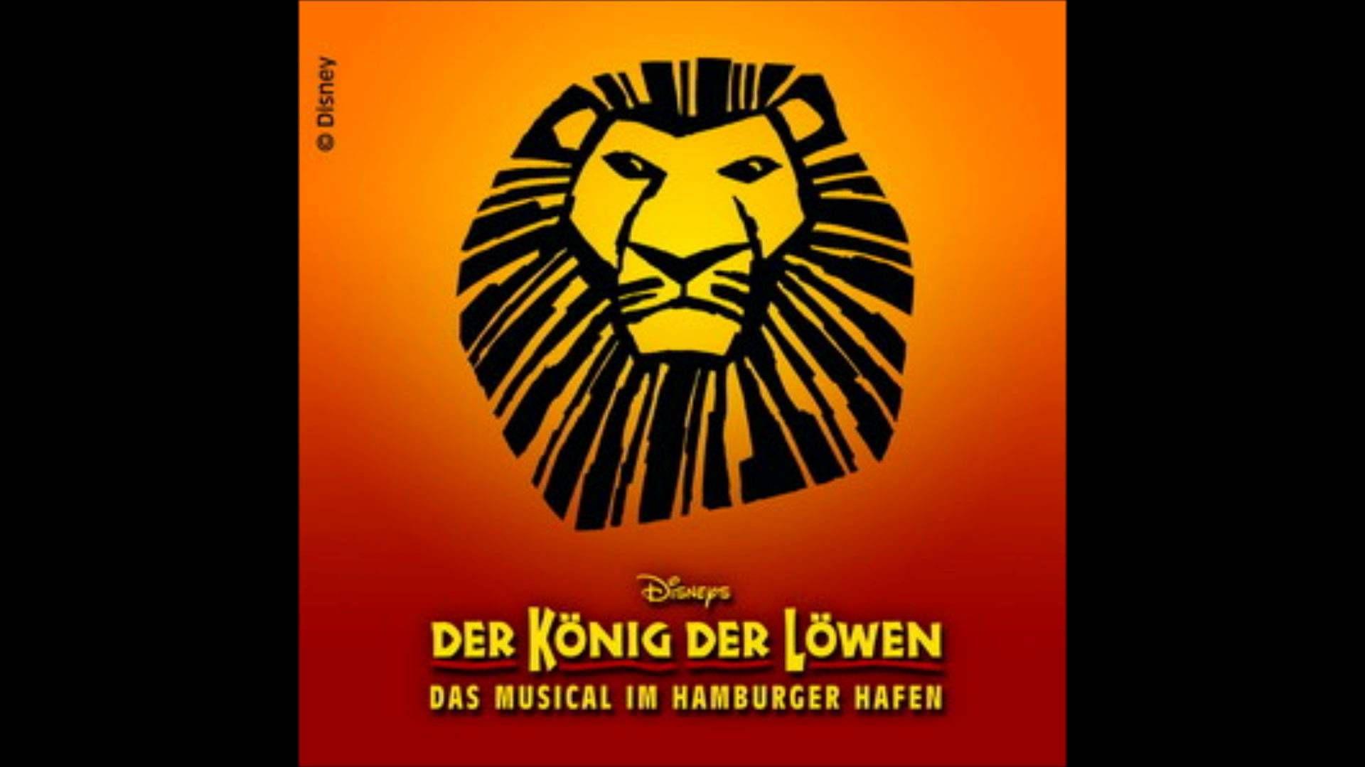 Konig Der Lowen Er Lebt In Dir Musical Broadway Poster Der Konig Der Lowen Konig Der Lowen